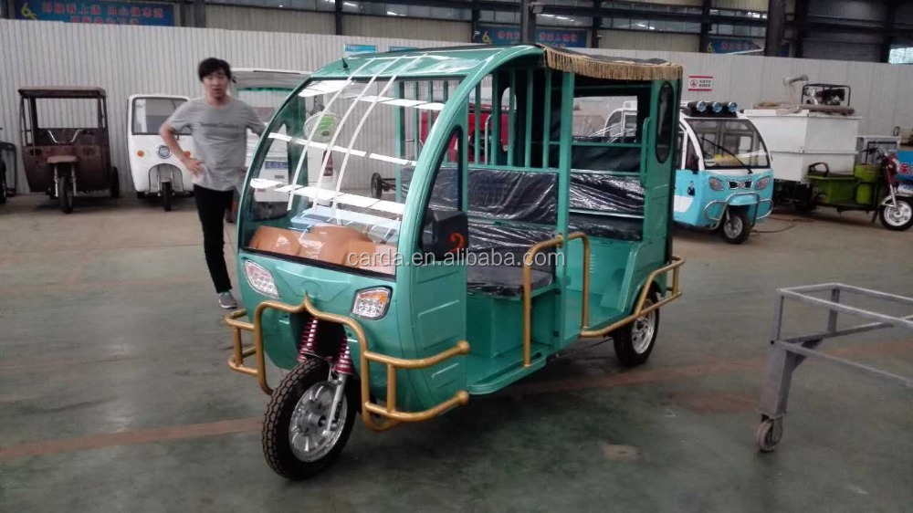 New model passenger bajaj tuk tuk e rickshaw with brushless motor sale in Bangladesh/Nepal