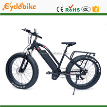 "High Speed Bafang 1000W 26"" Front Suspension Electric FAT Bike"
