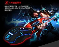 2015 New 6D Professional Colorful Backlight Mouse optical usb Gaming Mouse For PC Laptop