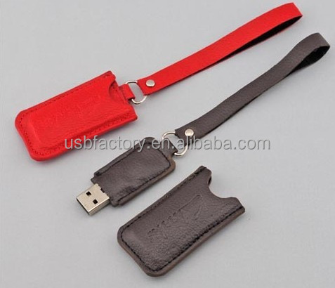 Mini leather usb gadgets