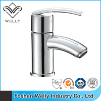Cold And Hot Water Rotatable Basin Faucet Mixer Water Tap