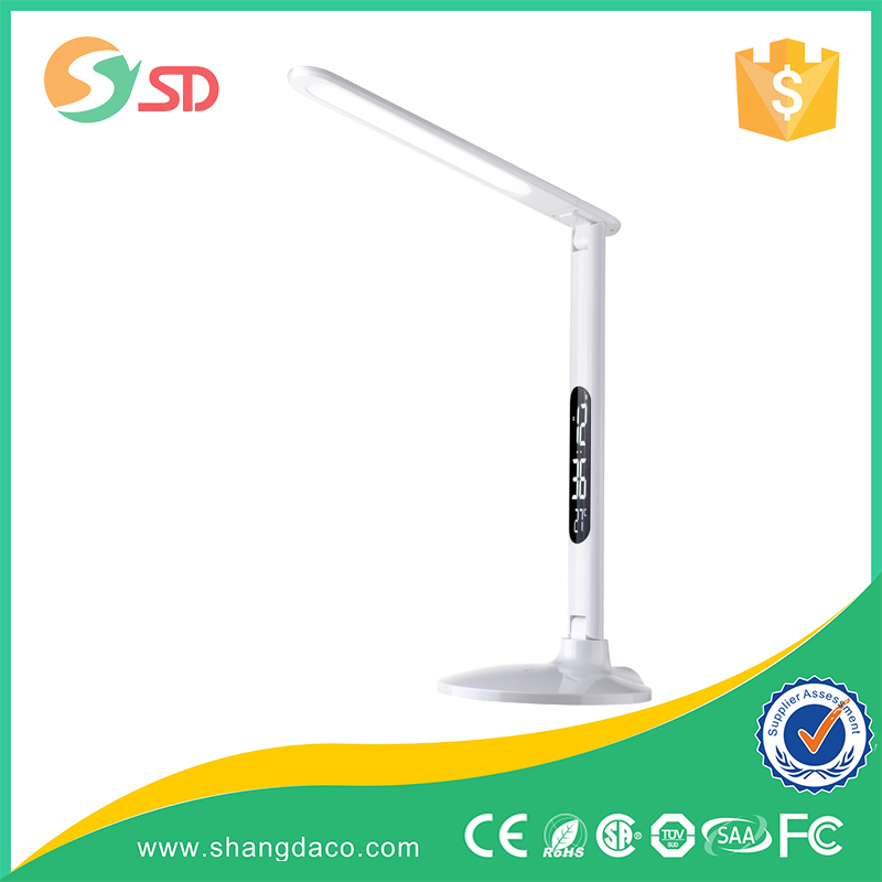 Fully adjustable 8W dimmable LED modern panel light desk lamp