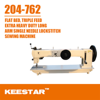 Keestar 204-762 industrial heavy duty used long arm sewing machine
