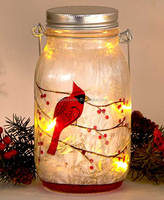 Frosted Glass LED Jars