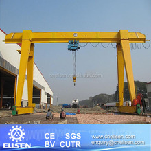 Small work shop gantry crane 10 ton