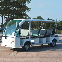 14 seat battery electric car sightseeing bus DN-14 with CE Certificate
