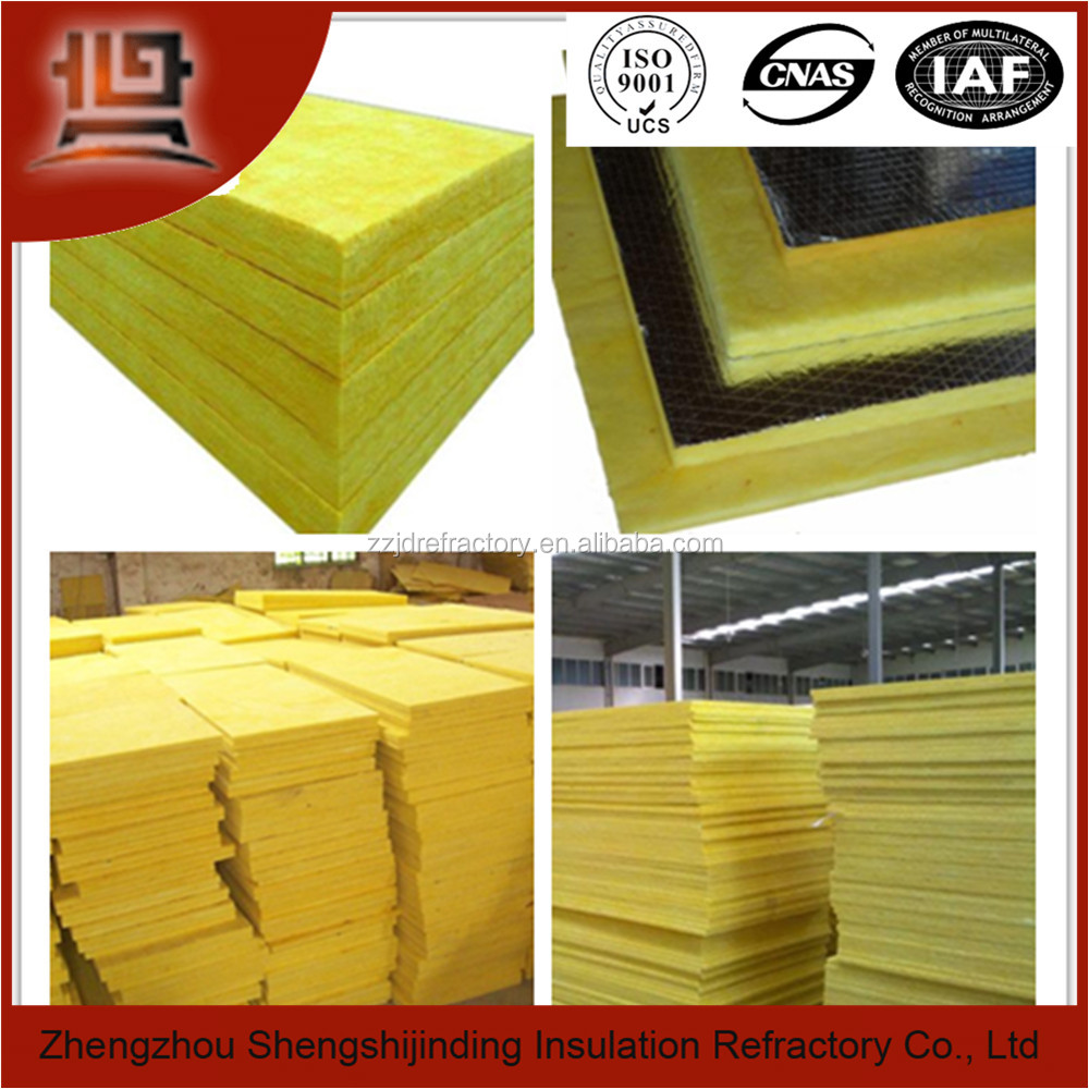 ISO certificate glass wool pipe cover with aluminium foil manufacturer china