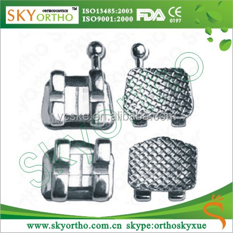 Orthodontic roth mini mesh base bracket dental supplies