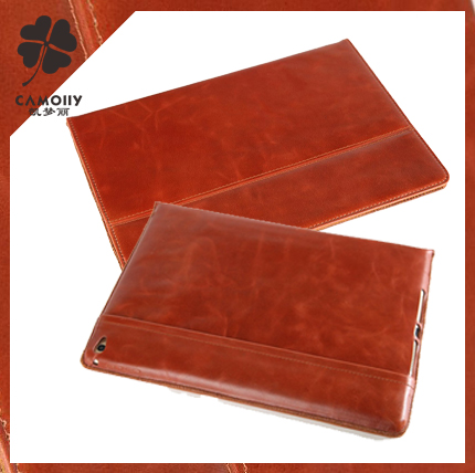 china supplier wholesales OEM leather sleeve case for apple ipad air tablet leather sleeve factory wholesale