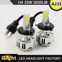 Free sample car accessories parts 12V auto led headlight bulb for automobile