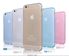 wholesale mobile phone silk printing clear case for apple iphone 6 back cover
