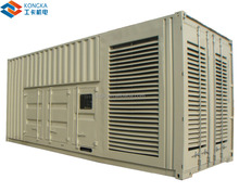 700kw container type soundproof diesel generator price