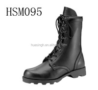 military operation warriors OPS system black combat boots for amry/police