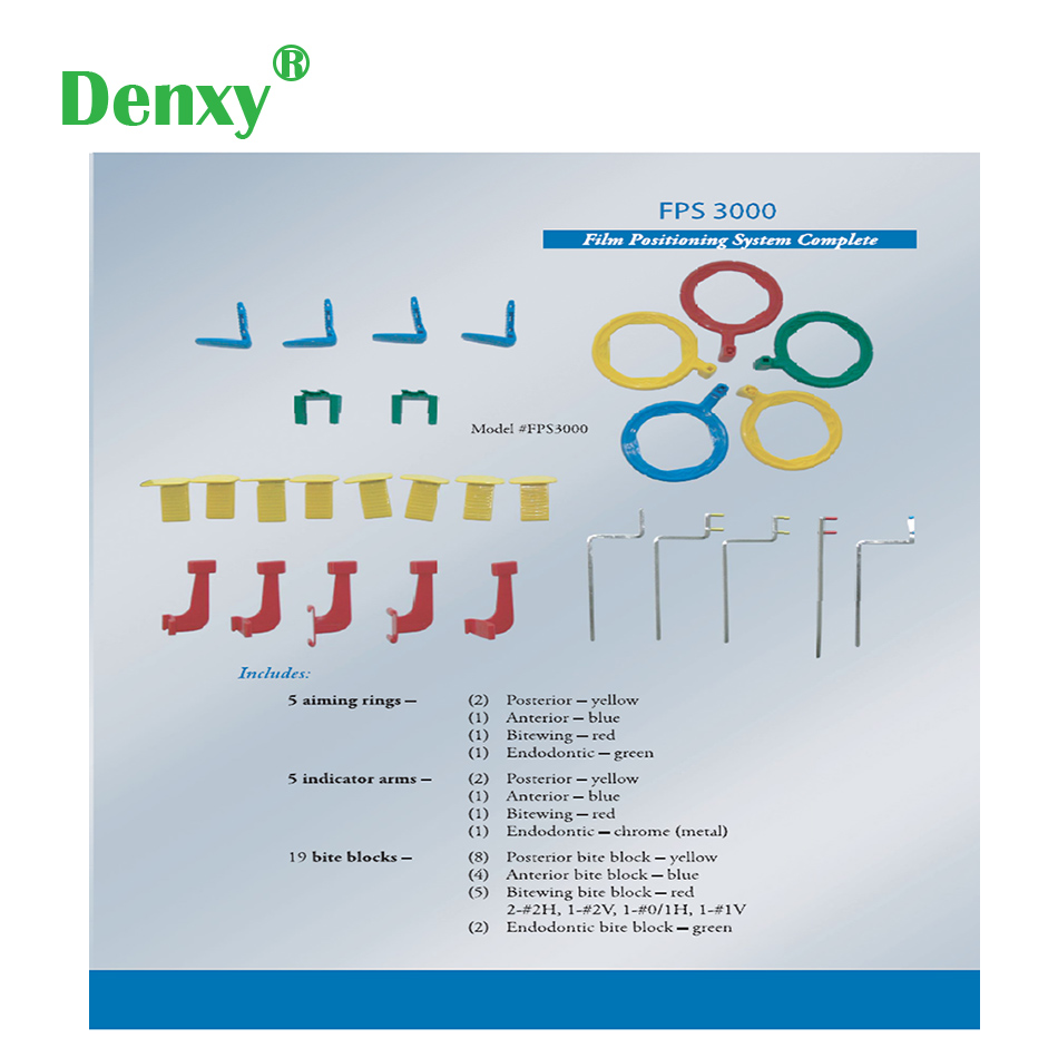 Denxy Dental X Ray Guide Holder Kit Dental X Ray Film Position Locator Teeth Film Holder