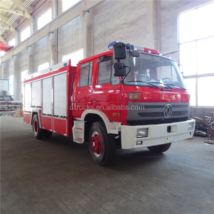 Alibaba china manufacture 6m3 fire fighting waters pump truck