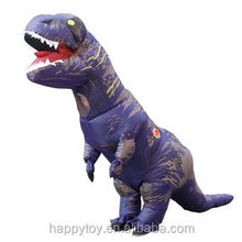 HI CE hot sale purple carton costume inflatable dinosaur adult custom mascot costume