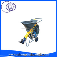 China Newest technology Mortar plastering machine wall cement spray plaster machine for india