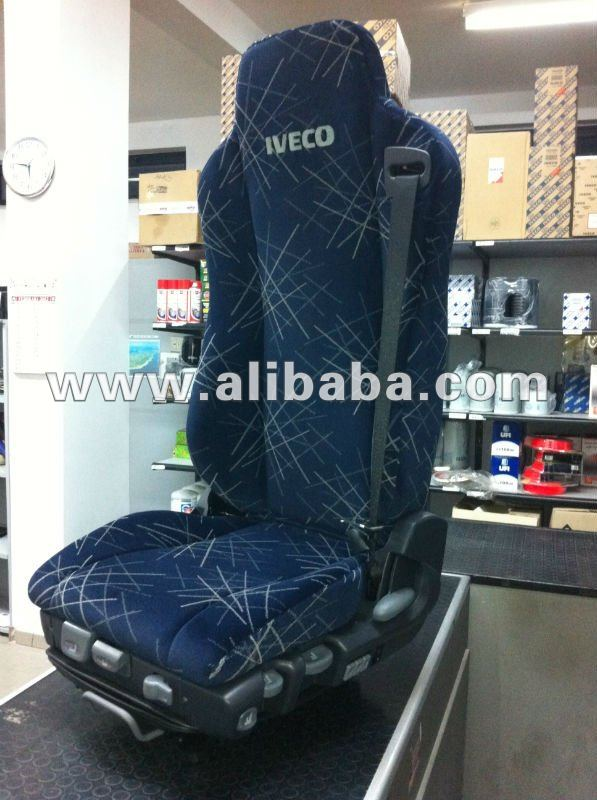 SEAT WITH LUMBAR ADJUSTMENT PNEUMATIC IVECO AND UNIVERSAL FOR ALL TRACKS CODE 504045443