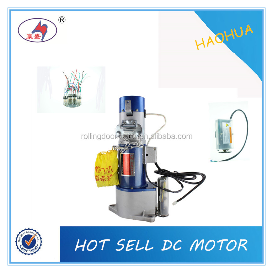 Economic Series cheap sliding door shutter motor / 800kg DC motor