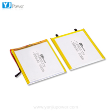 ultra thin digital product battery 1000mAh 3.7V lithium polymer battery