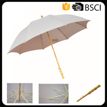 unique products standard size bamboo stick umbrella to sell