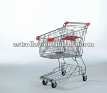 85 Liters Asian style supermarket shopping trolley,shopping cart