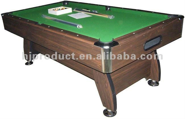 Elegant Design Professional Billiard Table with No Pockets