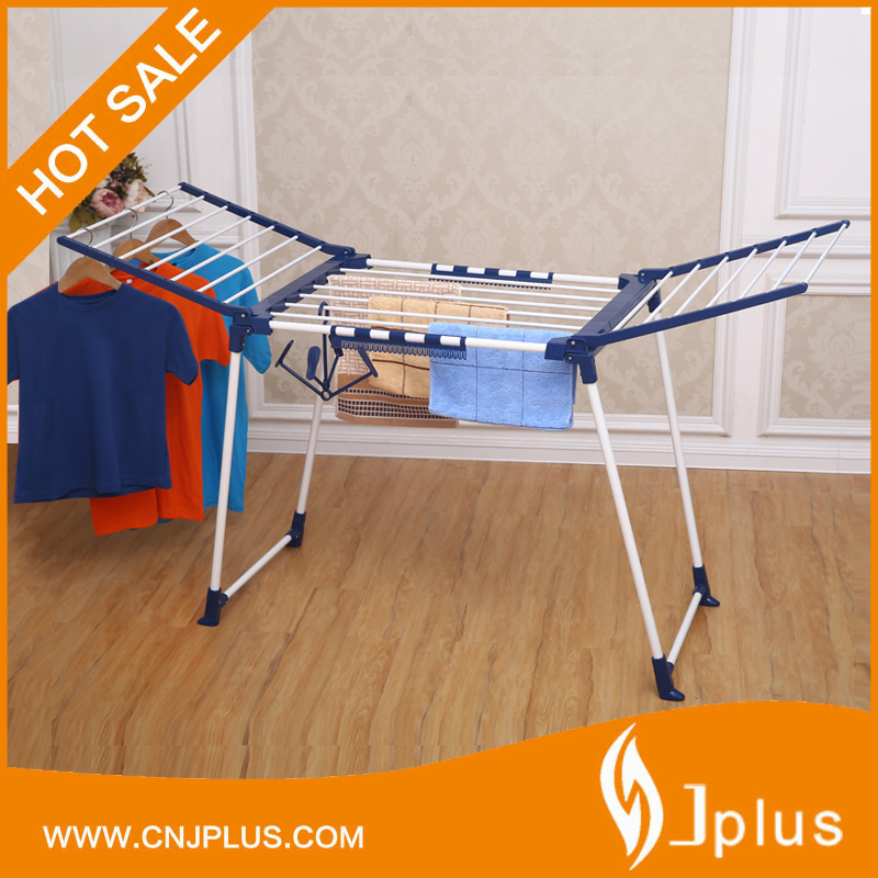 JP-CR0504W Fashion design space saving floor standing foldable clothes drying airer rack