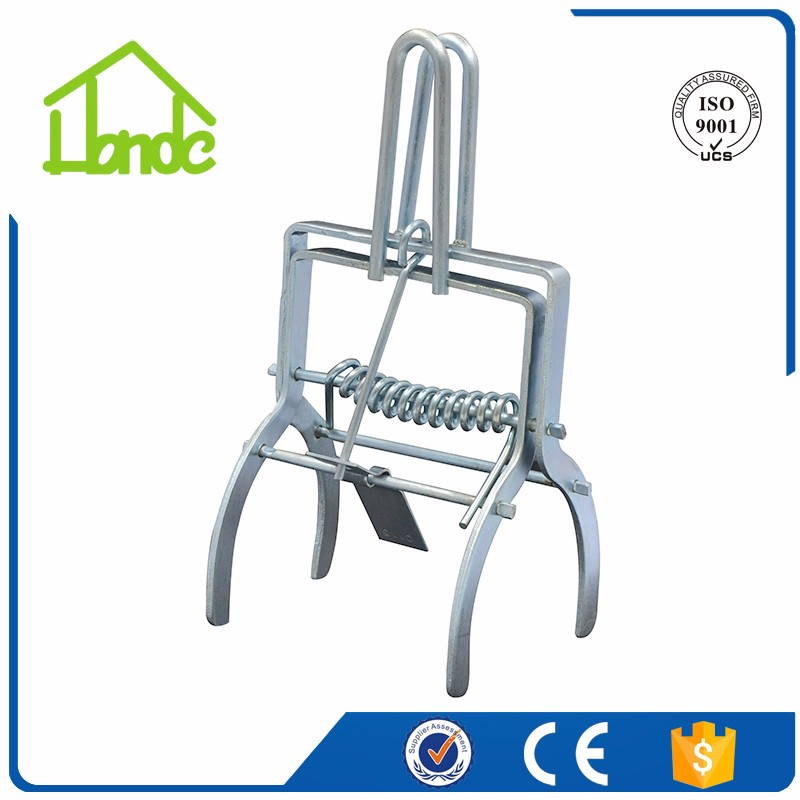 On Sale Galvanized Mole Trap for Pest Control HDMT04