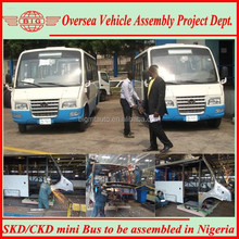 supply skd/ckd 6650 series diesel Minibus to be assembled in local for Nigerian public transportation