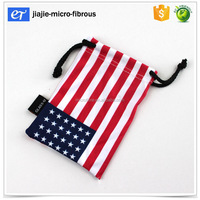 Alibaba manufacturer factory price custom made jewelry pouch with microfiber