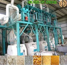 Samolina flour mill plant/cron cassava flour making machine