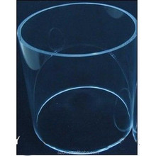 Large diameter clear cast hollow acrylic tube for sale