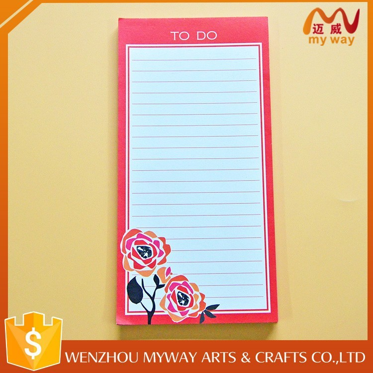 Customized promotion eco-friendly flower shaped sticky note pad