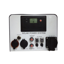 DC AC portable solar home 300W power complete generation system