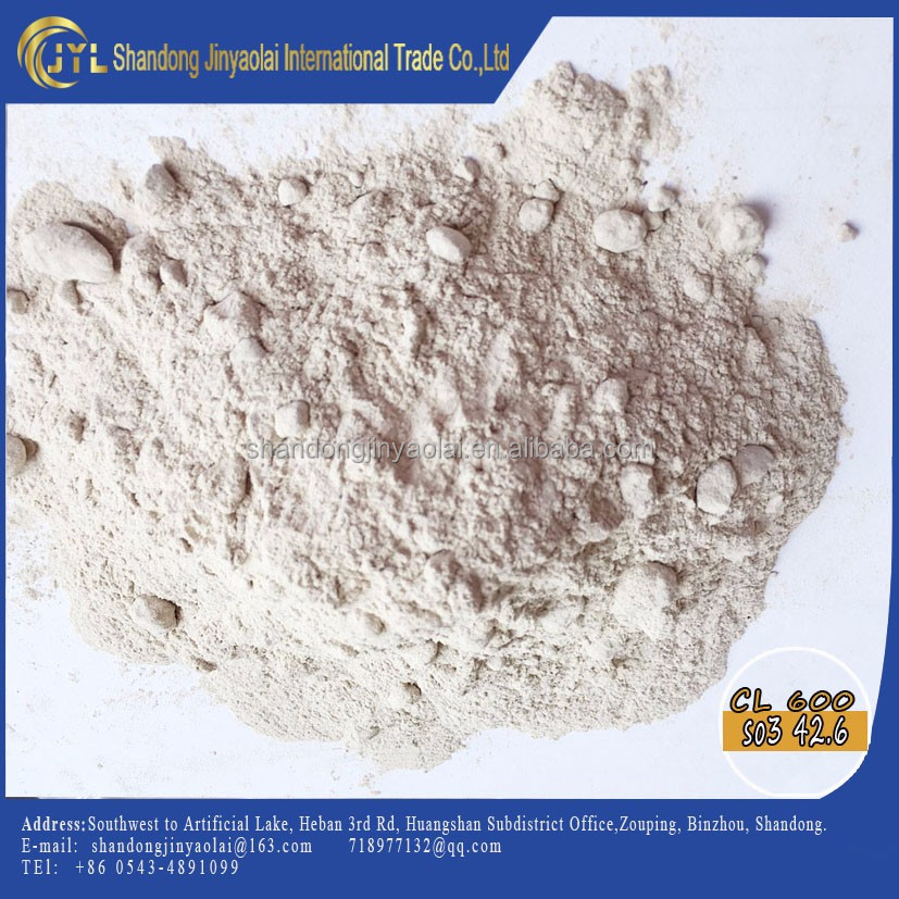 JYL-G2016 building gypsum/land plaster used for cement