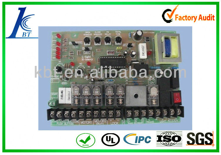 electronic pcb prototyping.gold-plated mobile pcb board with assembly.Turnkey service for PCB/PCBA