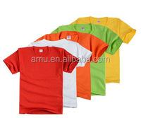 OEM wholesale plain children t shirt 2-7 years t shirt for boy