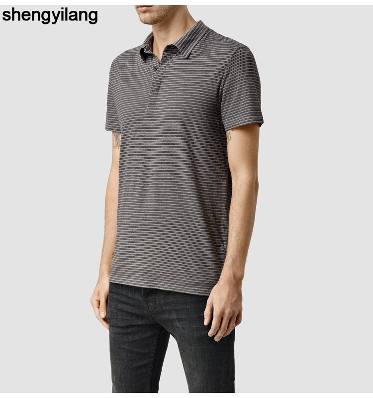 Wholesale custom Striped polo shirt OEM service guangzhou polo shirts t shirt polo with 65% cotton 5% polyester