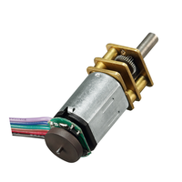n20 12mm 12v micro dc gear motor with encoder