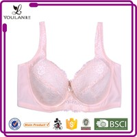 clear simple light pink breathable comfortable silicone bra cup