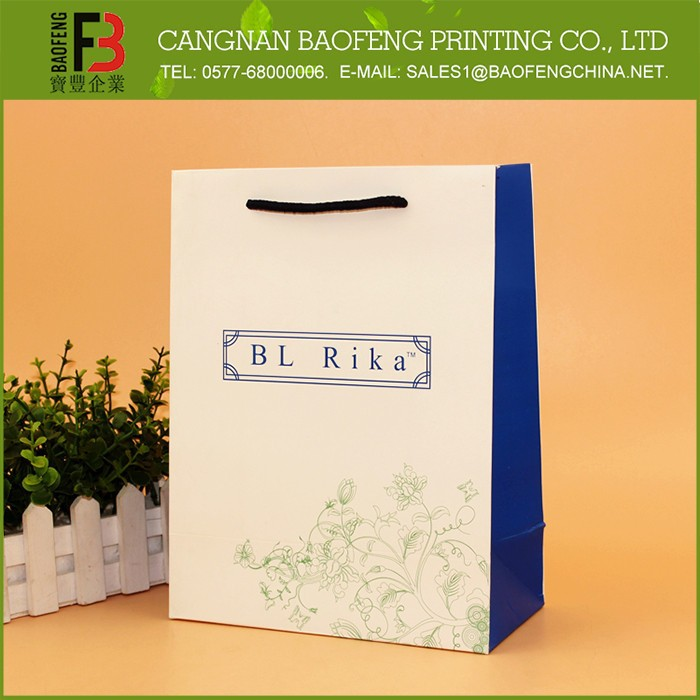 Professional Made High End Paper Bags Manufacturing Process