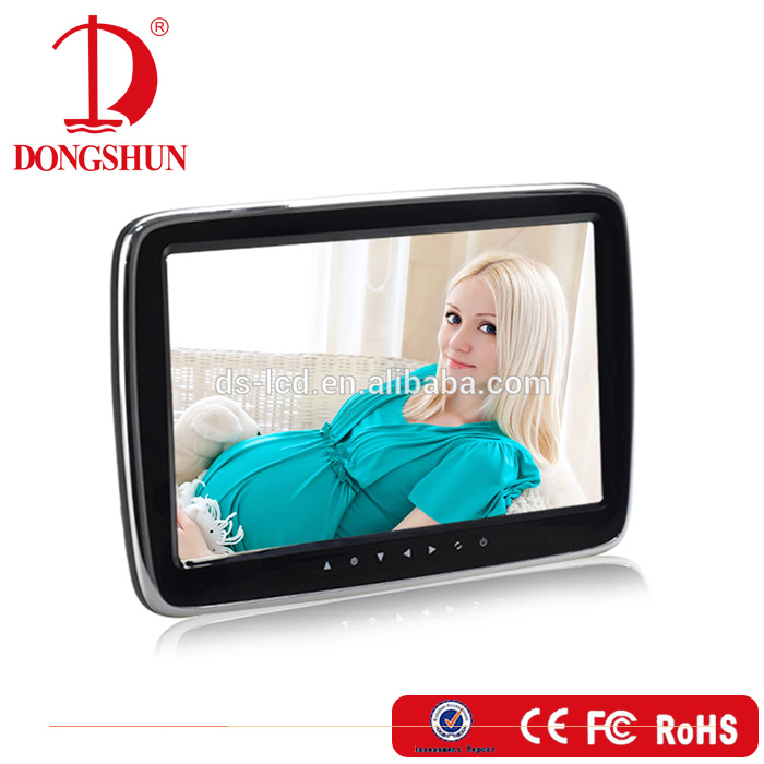 Factory directly sell 10.1 inch headrest car video player with MP5