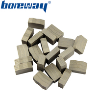 Boreway cutting tools diamond segment for cutting stone granite marble blocks