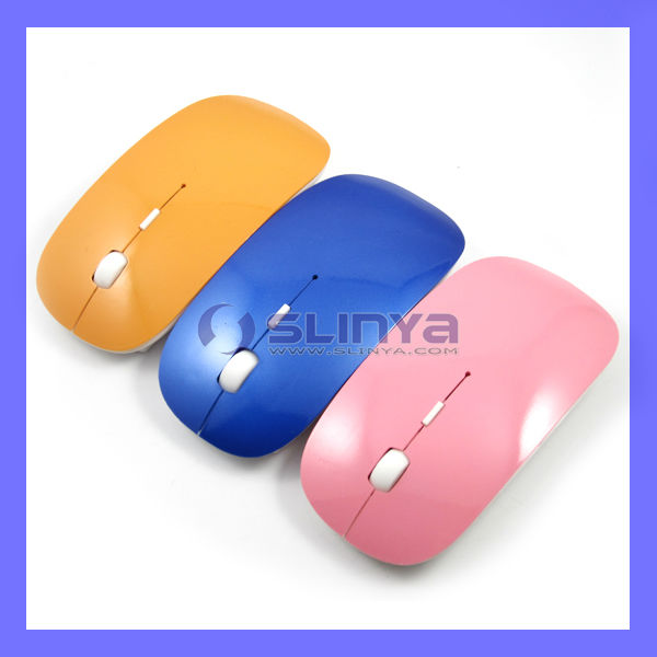 Thinest 2.4Ghz Wireless Optical Mouse With High Resolution