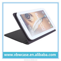 "PU leather tablet case cover for 8"" tablet, 8'' inch case cover for tablet pc with stand"