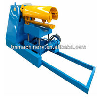 Manual/Hydraulic Decoiler/Uncoiler for Sandwich panel