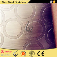 304 Stainless steel sheet 304 cold rolled decorative panel