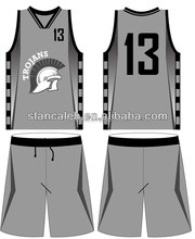 Stan Caleb Cheap reversible customize basketball wear, full sublimation printing basketball clothing