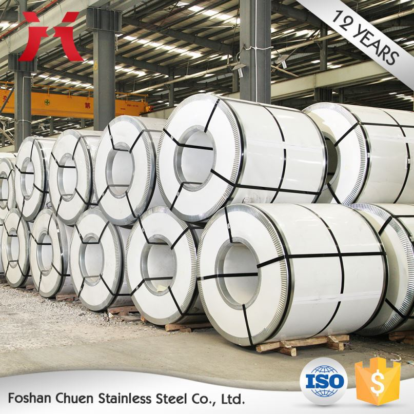 new products 2017 316 430BA 304 stainless steel coil prices per ton
